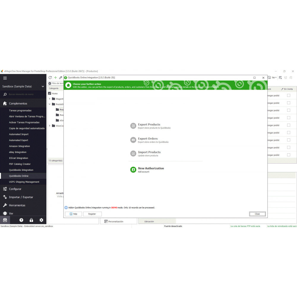module - Integración con CRM, ERP... - Store Manager para PrestaShop - 14