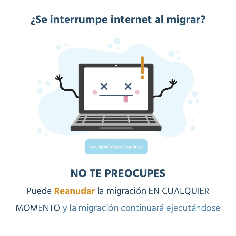 module - Migración y Copias de seguridad - 1 CLIC para Migrar o Actualizar - 7