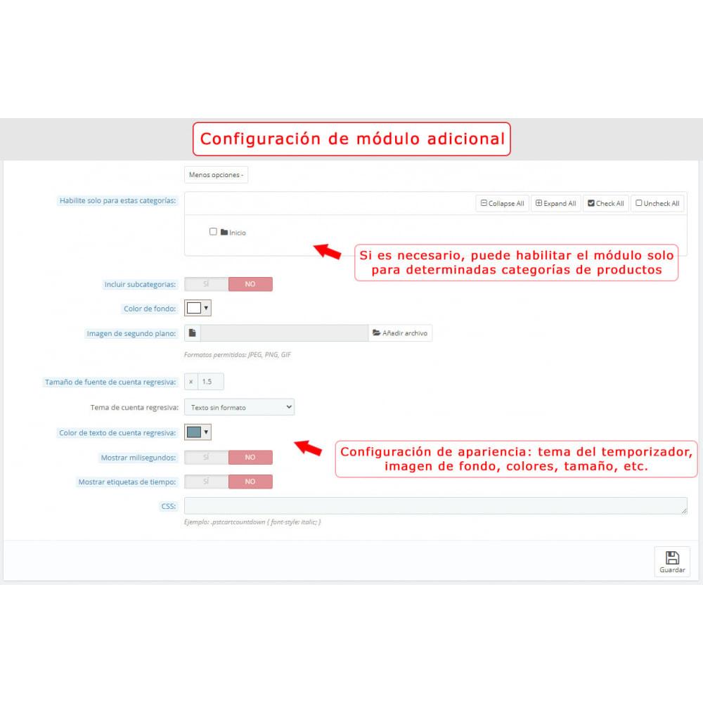 module - Inscripción y Proceso del pedido - Cuenta regresiva en el carrito - 7
