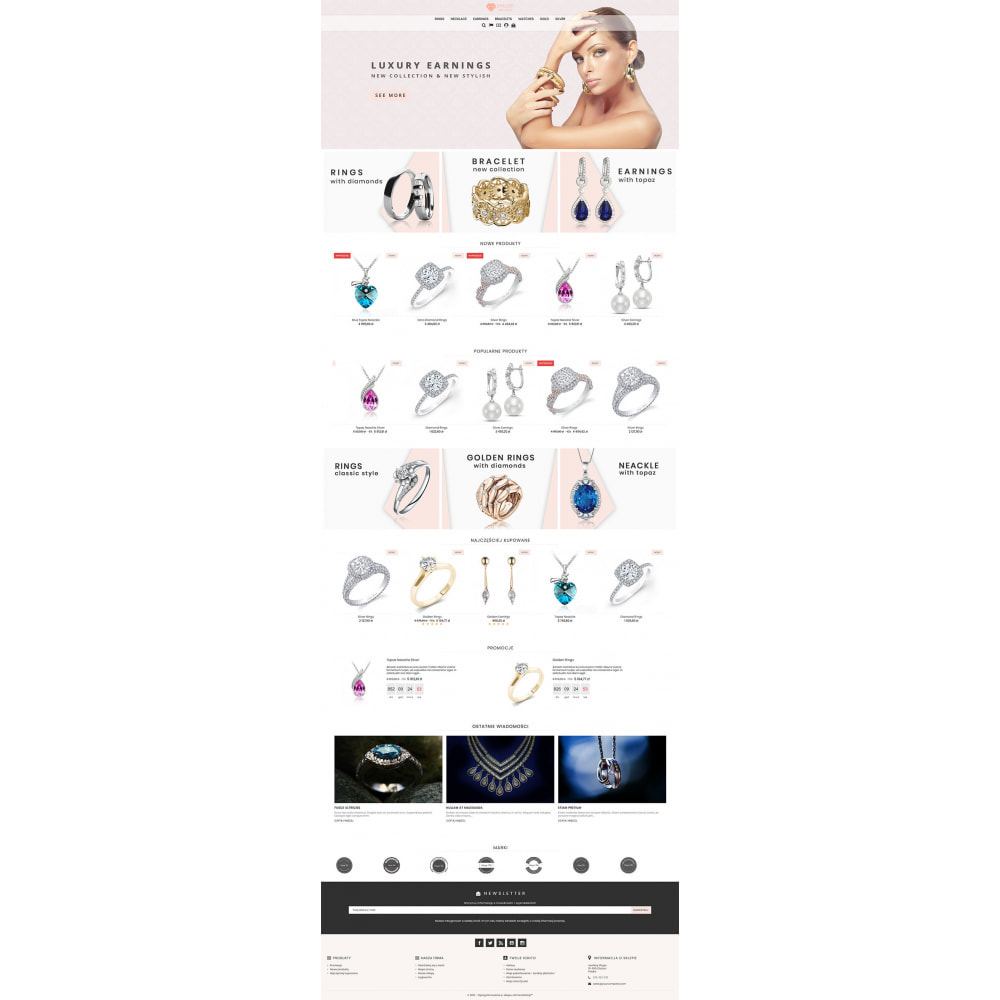 theme - Bellezza & Gioielli - Modern Jewellery - 2