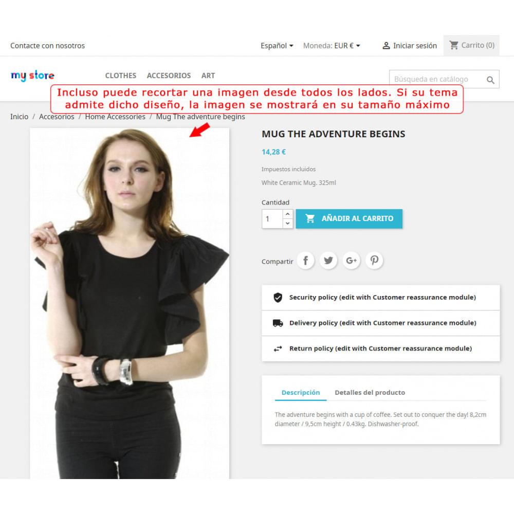 module - Personalización de la página - Corte automático y encuadre de las imágenes - 6
