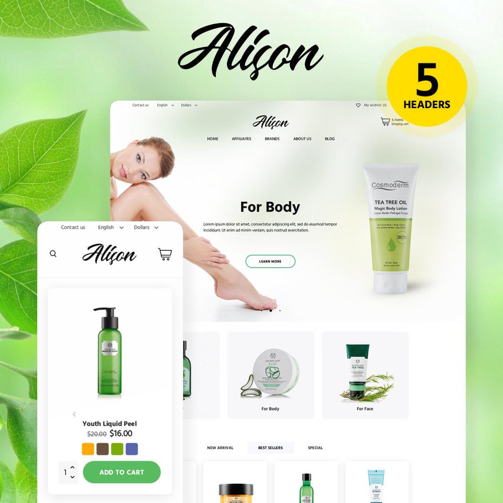 theme - Saúde & Beleza - Alison Cosmetics - 1