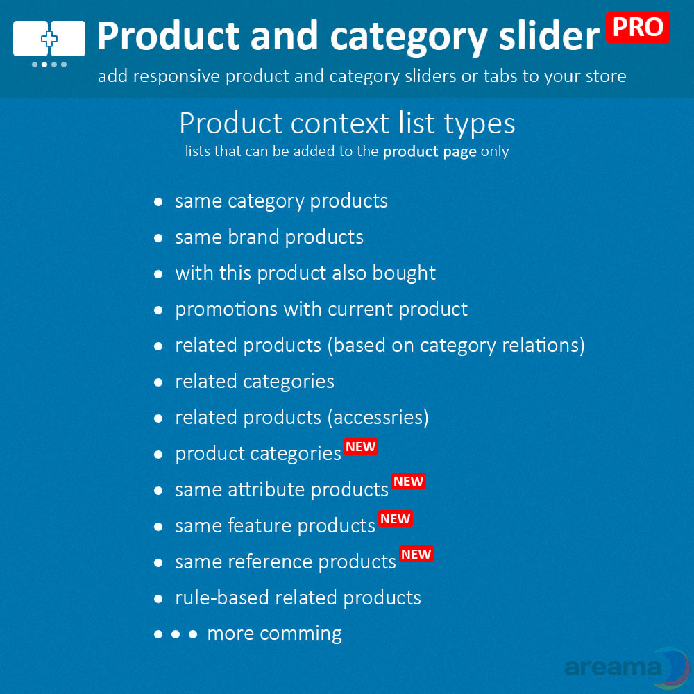 module - Zusatzinformationen & Produkt-Tabs - Product slider PRO + categories + related products - 4