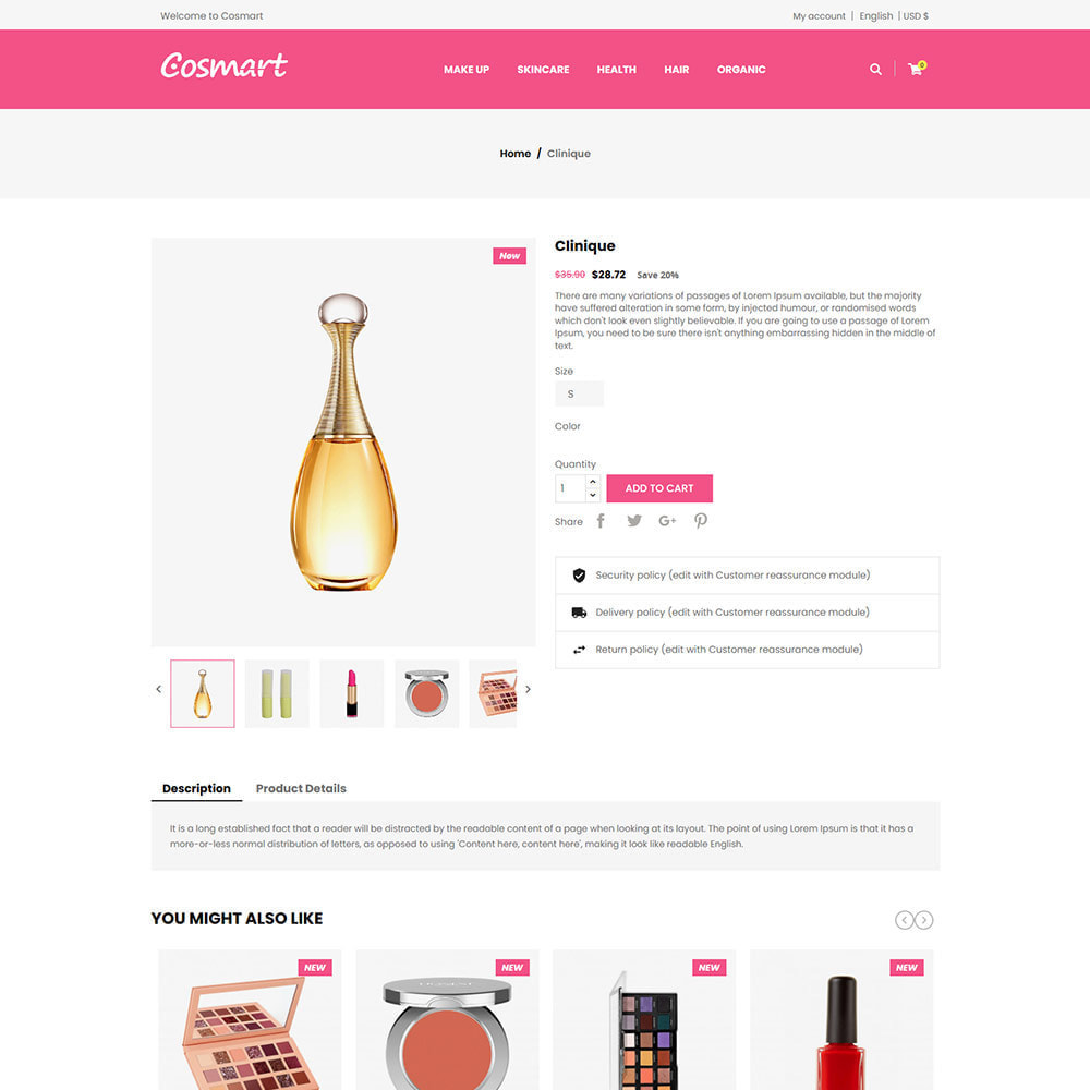 theme - Jewelry & Accessories - Cosmart Makeup Cosmetics - Beauty Gym Store - 5