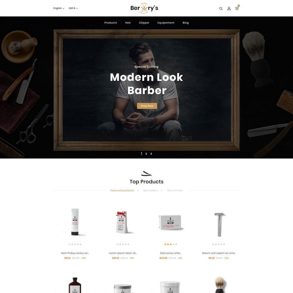theme - Lingerie & Adult - Berry Salon Store - 2
