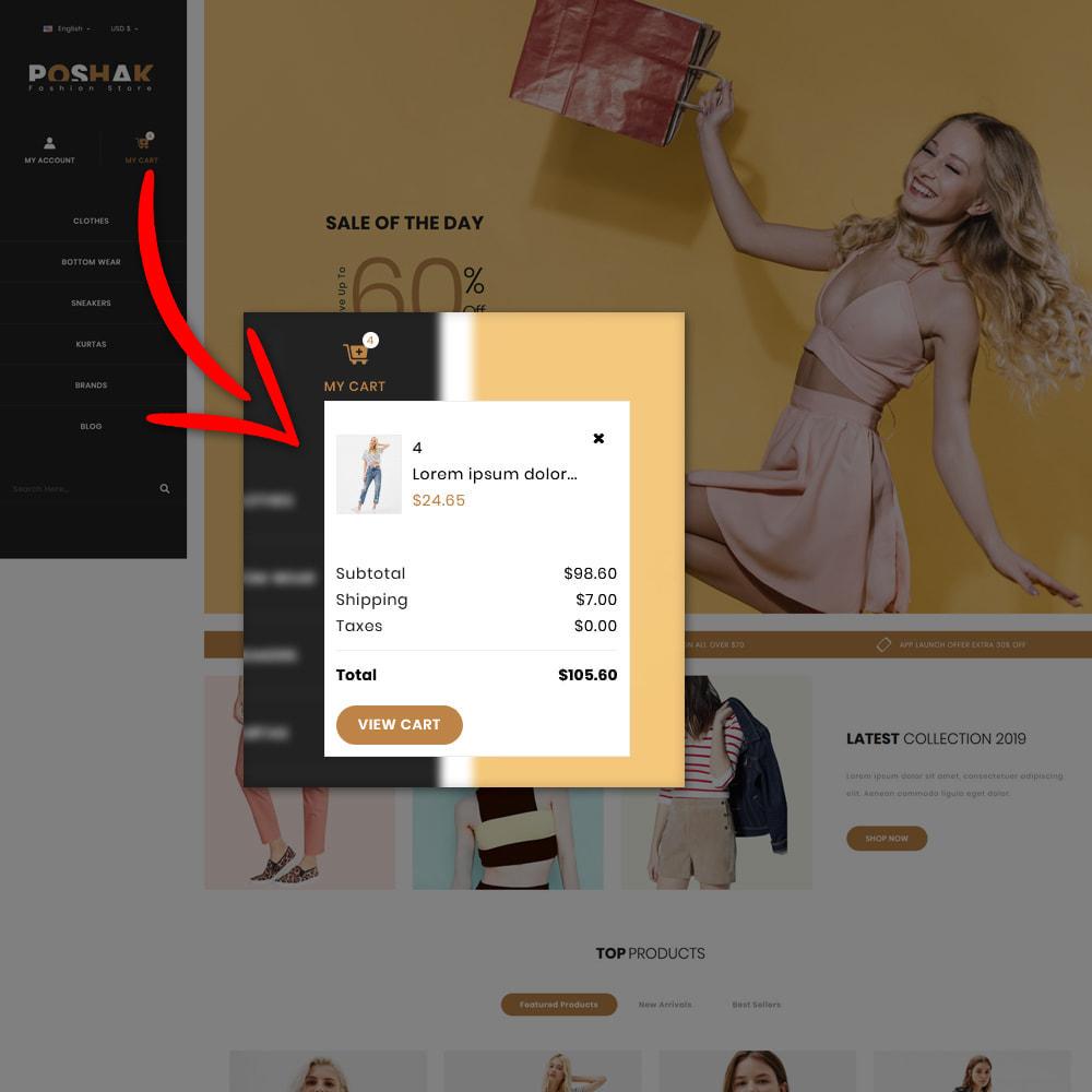 theme - Fashion & Shoes - Poshak - Fashion Shop - 9
