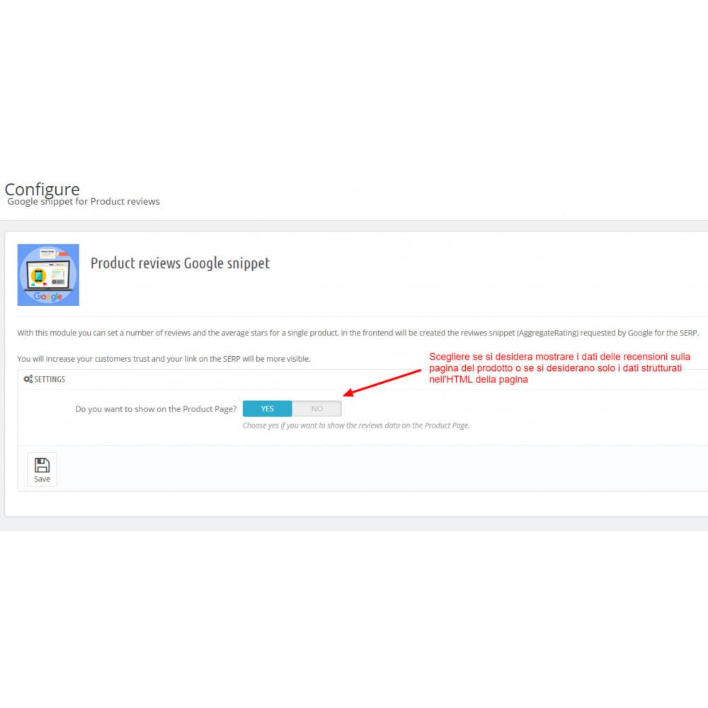 module - Recensioni clienti - Snippet Dati Strutturati Google per Recensioni prodotti - 6