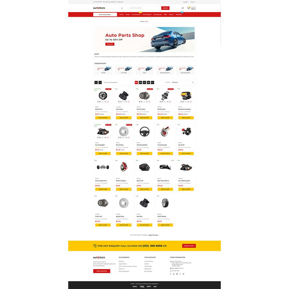 theme - Auto & Moto - Autotricas Cars–AutoPart Mega–Moto Shop - 5