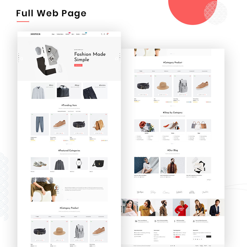 theme - Mode & Schuhe - SHOPHUB Mega Style–Fashion Minimal–Modern Super Store - 2