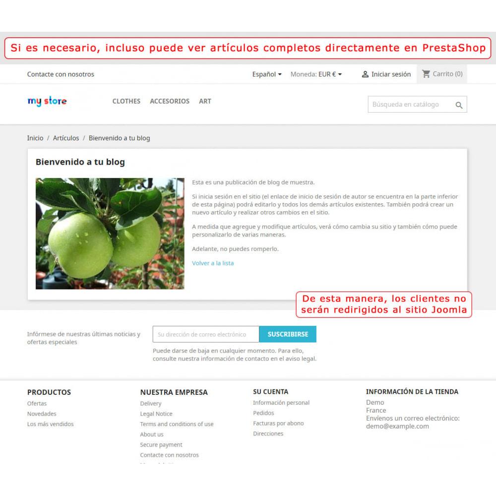 module - Marketplaces - Integración bilateral de PrestaShop y Joomla! - 5