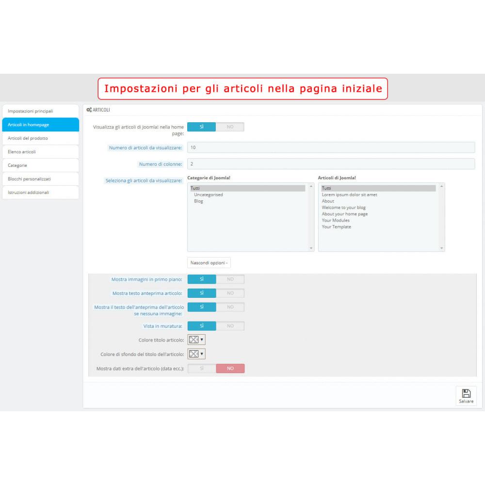 module - Marketplace - Integrazione bilaterale PrestaShop e Joomla! - 8