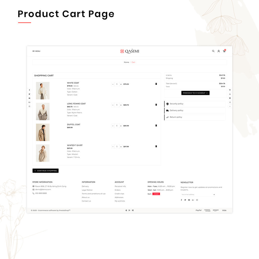 theme - Мода и обувь - QASIMI Mega Fashion–Style Super Store - 5