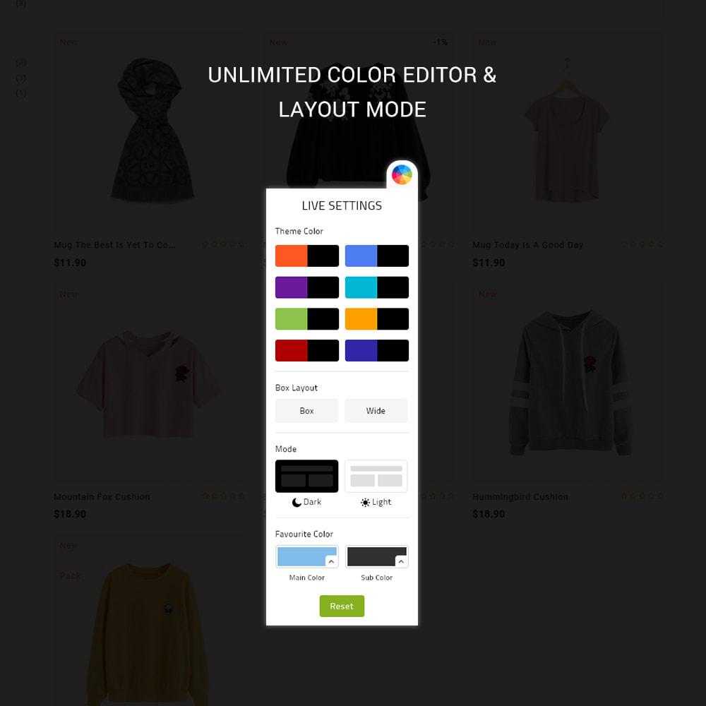 theme - Mode & Schoenen - Rackso - Multipurpose Fashion - 9