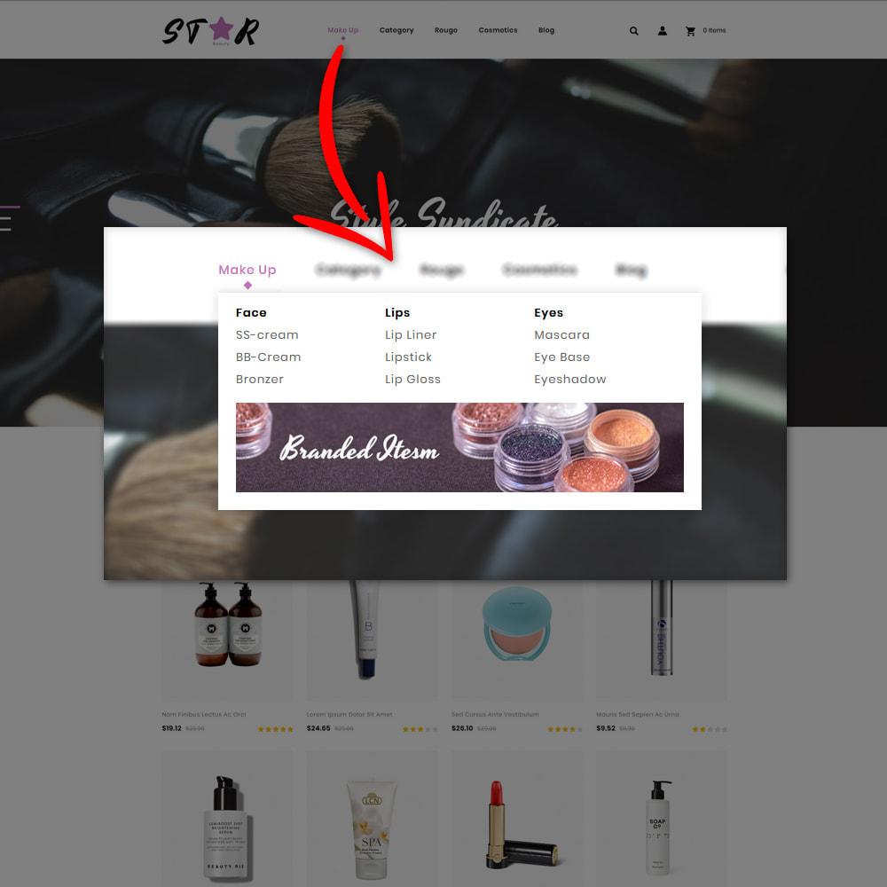 theme - Health & Beauty - Star Cosmetic Shop - 9