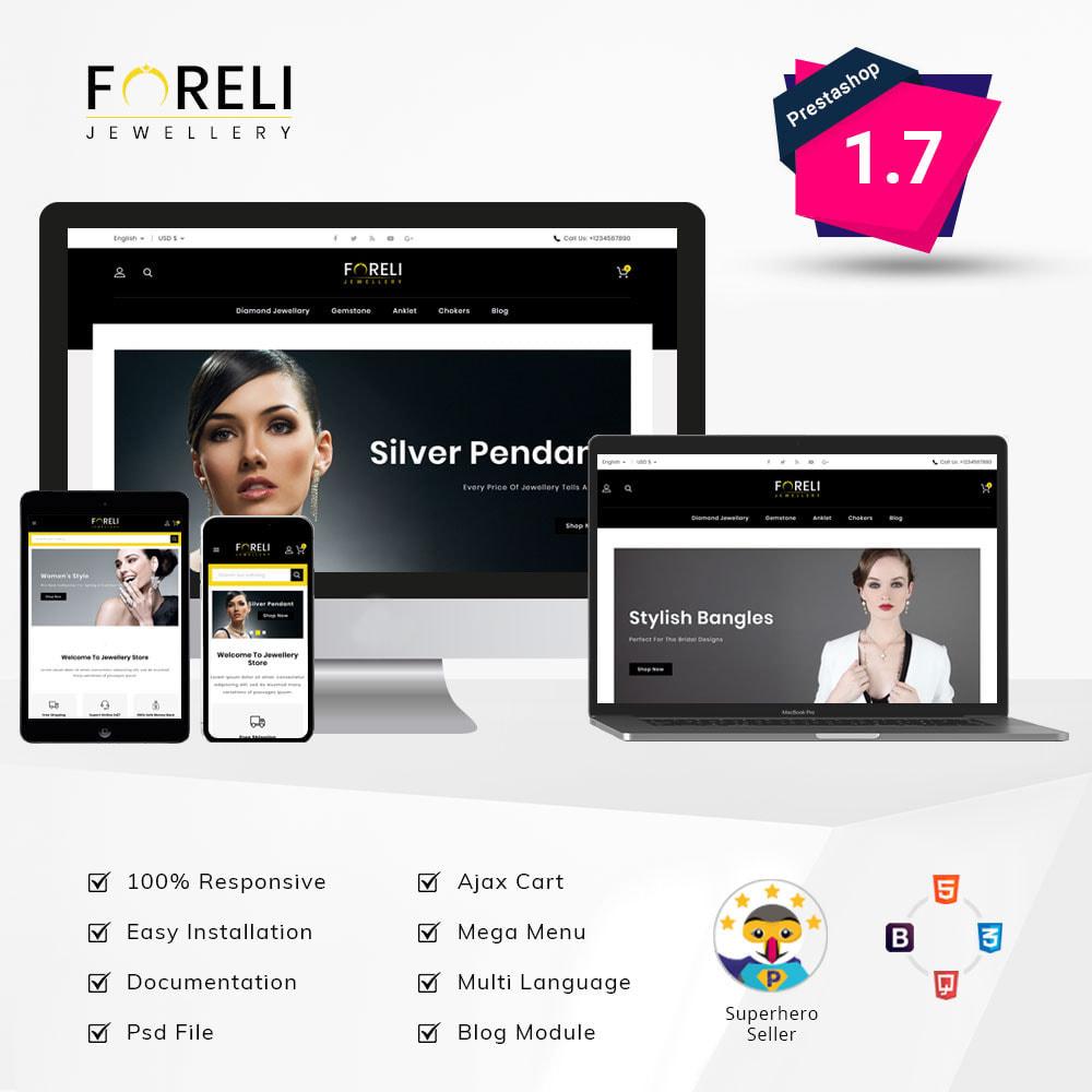 theme - Bellezza & Gioielli - Foreli - Jewellery Store - 1