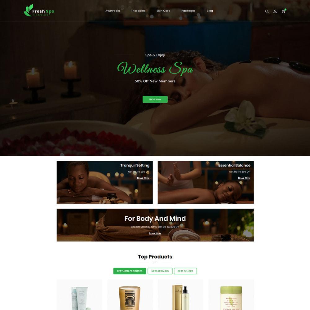 theme - Health & Beauty - Fresh Spa - 2
