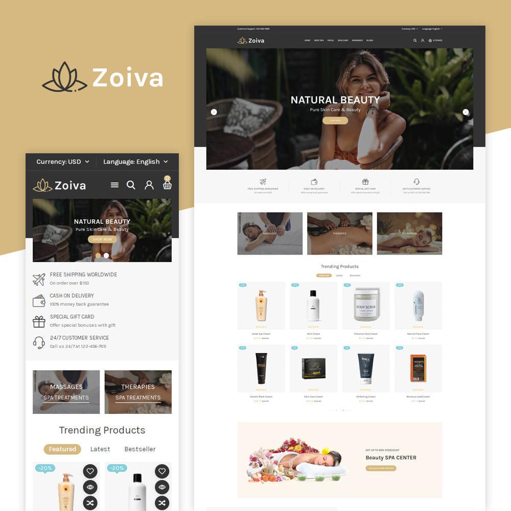 theme - Health & Beauty - Zoiva Beatury Store - 1
