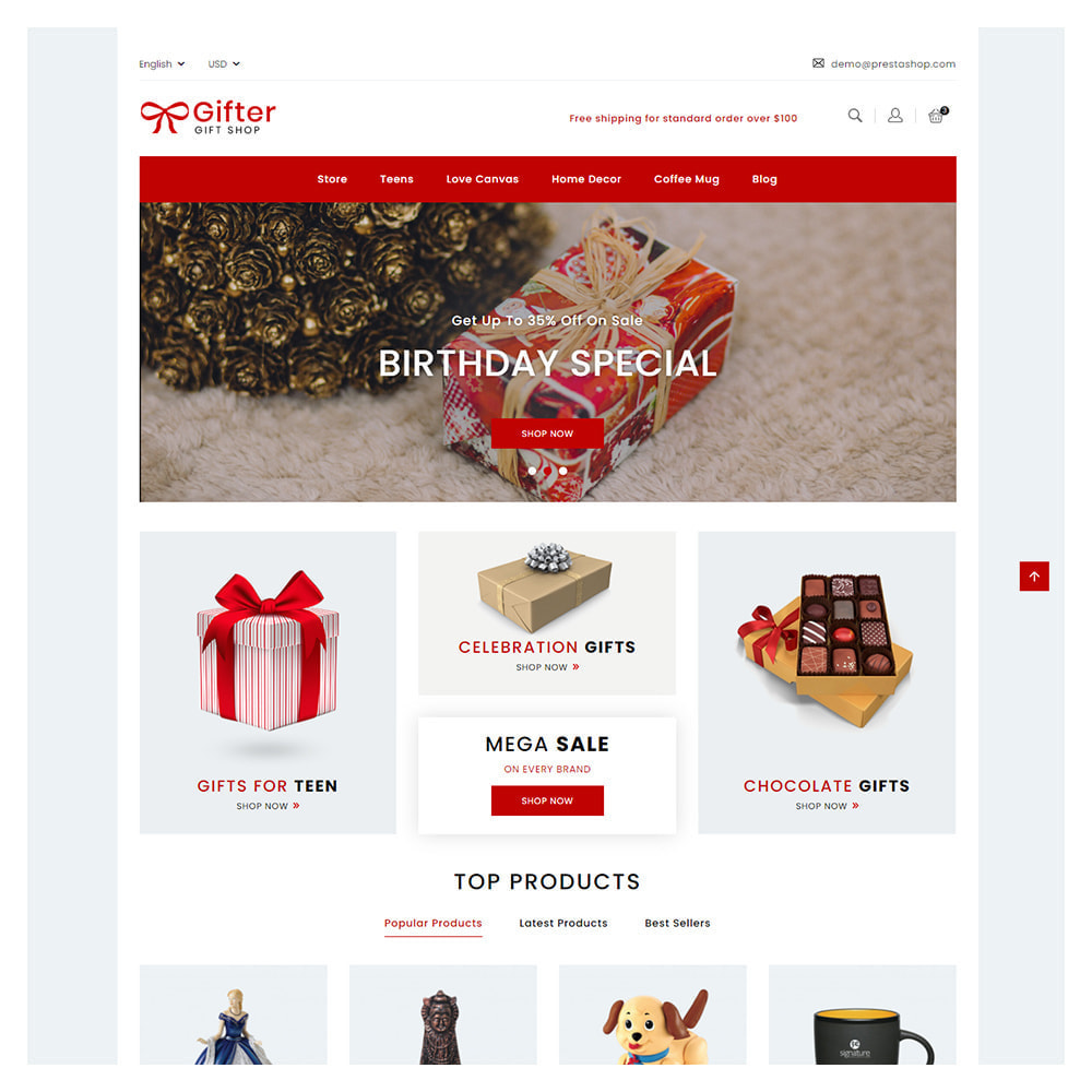 theme - Gifts, Flowers & Celebrations - Gifter Flowers & Celebrations Shop - 1