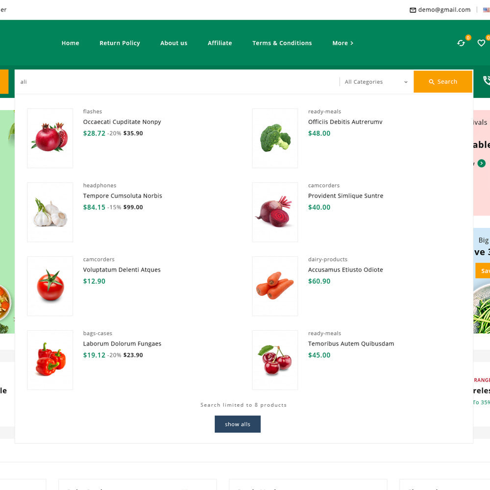 theme - Alimentos & Restaurantes - Organics - Fresh Food Delivery Store - 15