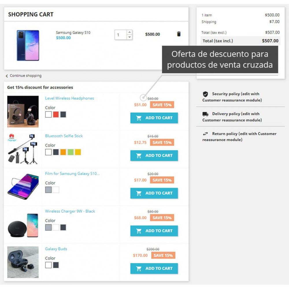 module - Ventas cruzadas y Packs de productos - Cross Selling PRO - 2