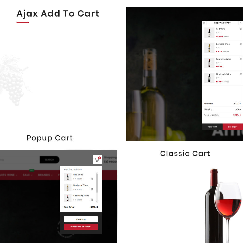 theme - Napoje & Wyroby tytoniowe - Winery Mega France–Wine  Alcohol–Drink Super Store - 8