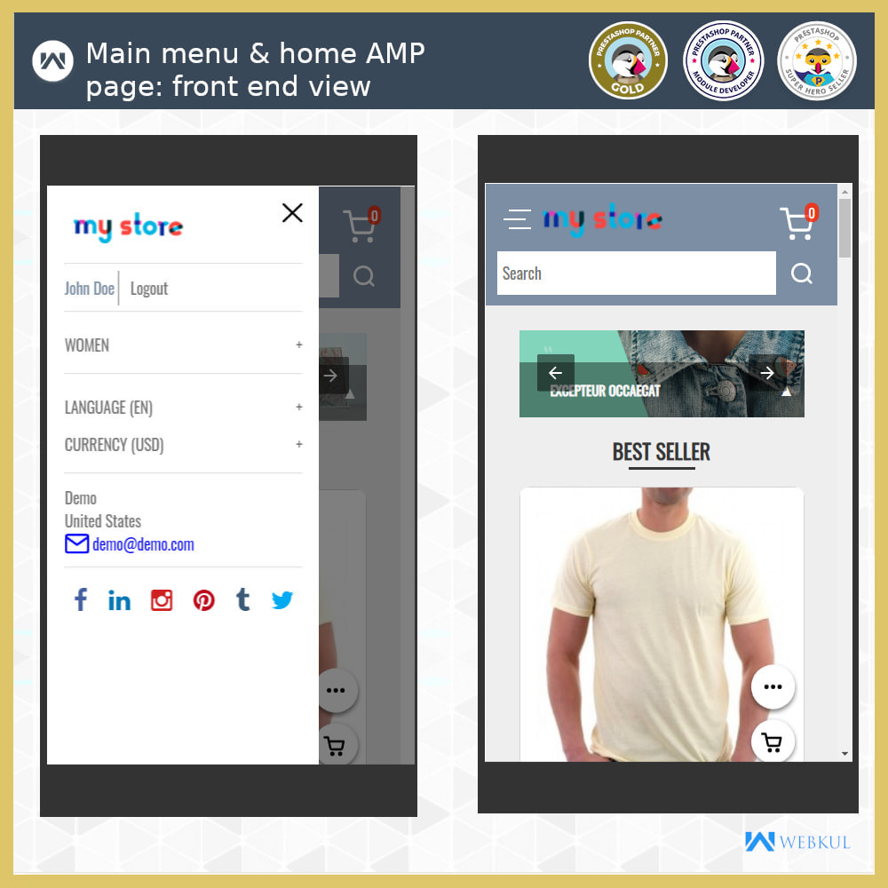 module - Мобильный телефон - AMP - Accelerated Mobile Pages (With Checkout) - 8
