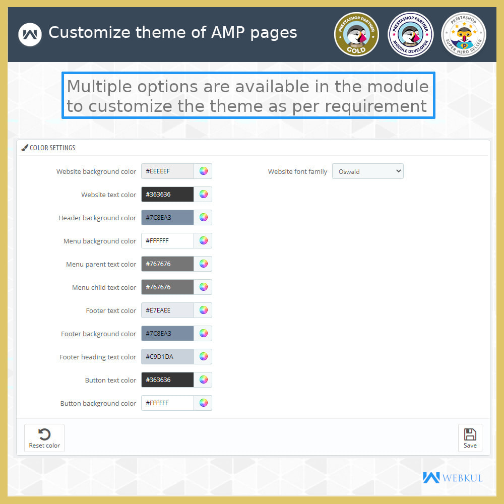 module - Мобильный телефон - AMP - Accelerated Mobile Pages (With Checkout) - 16