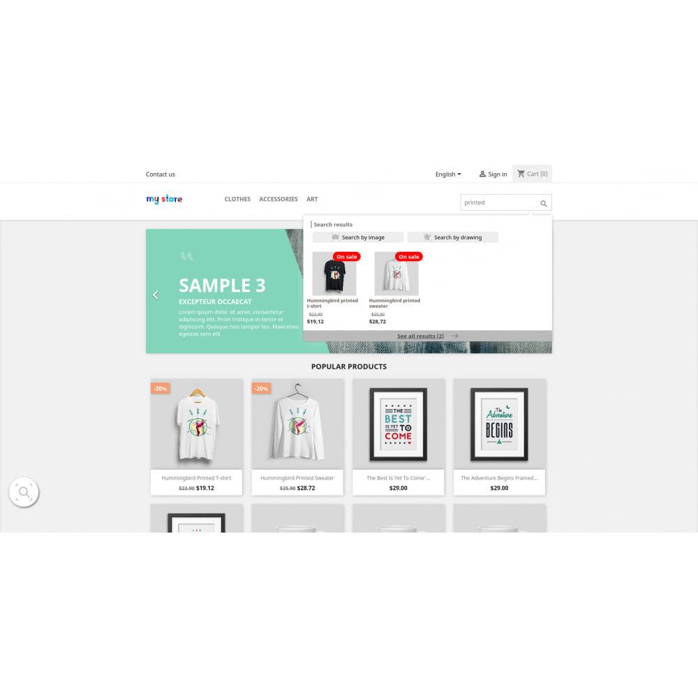 module - Zoeken & Filteren - Impresee Creative Search Bar & Analytics - 2