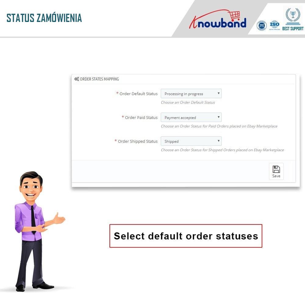 module - Platforma handlowa (marketplace) - Knowband - Integracja z rynkiem eBay - 5