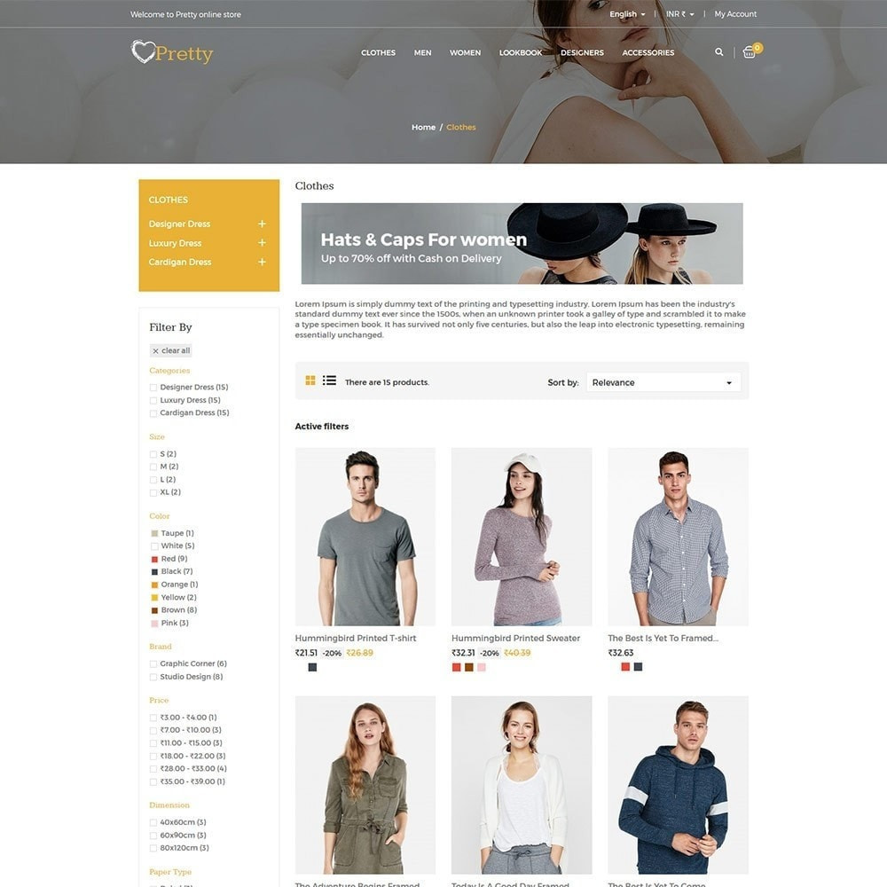theme - Moda & Calzature - Pretty Fashion - Women Designer Cloth Store - 5