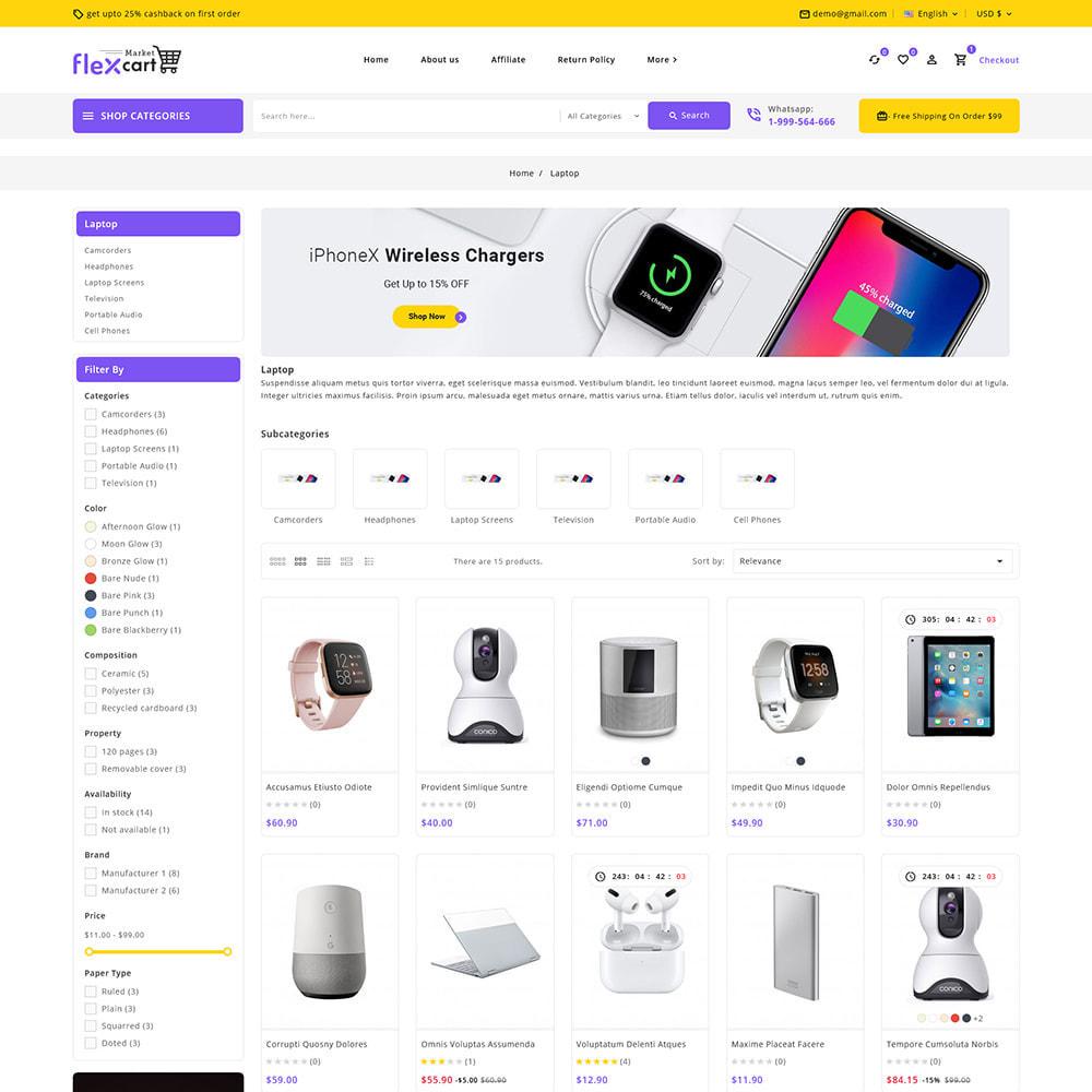 theme - Electrónica e High Tech - Flexcart - Mega Electronic Super Store - 4