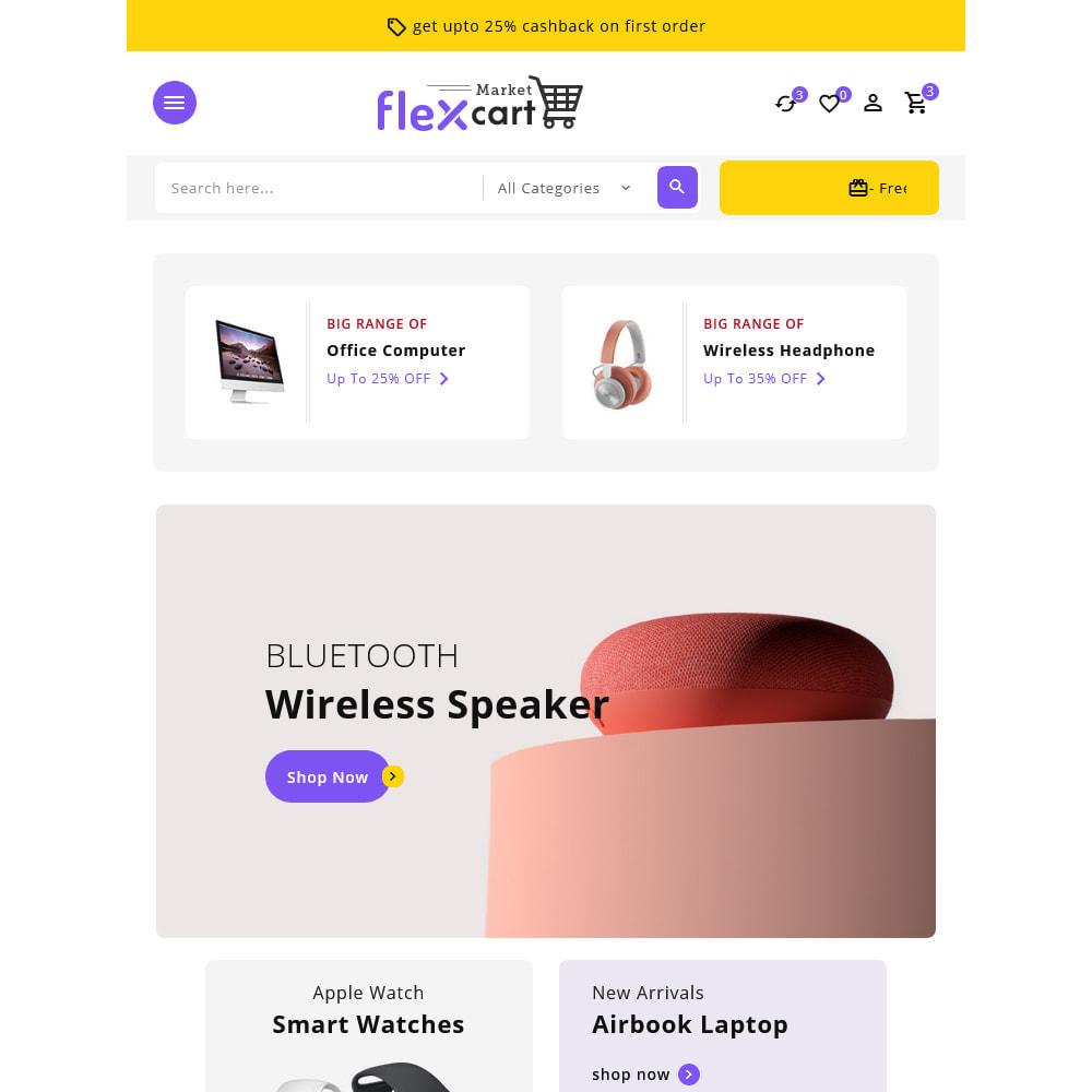 theme - Electrónica e High Tech - Flexcart - Mega Electronic Super Store - 15