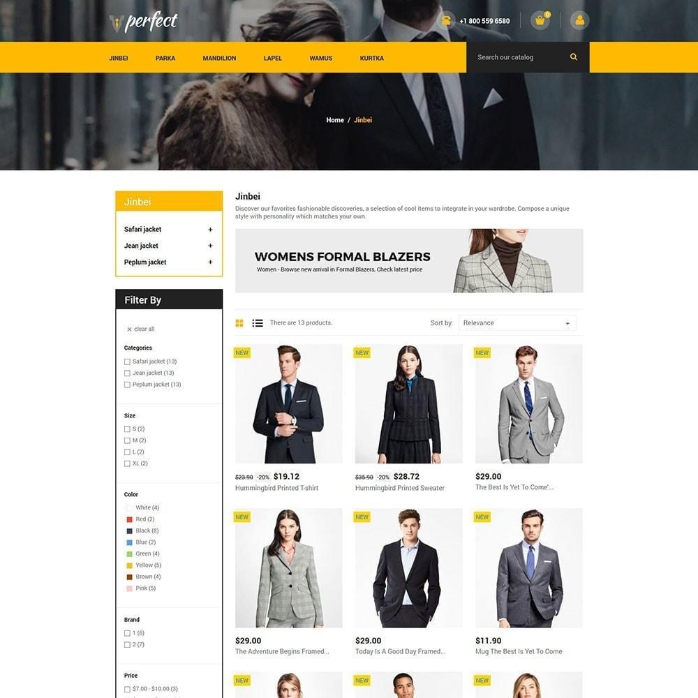 theme - Mode & Chaussures - Perfect Suit - Fashion Designer Blazer Store - 3