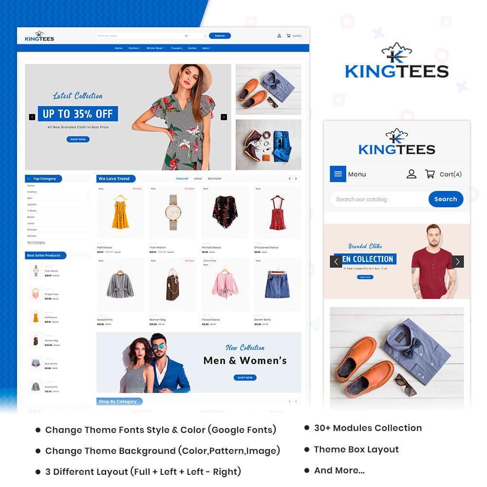 theme - Mode & Chaussures - Kingtees Fashion Shop - 1