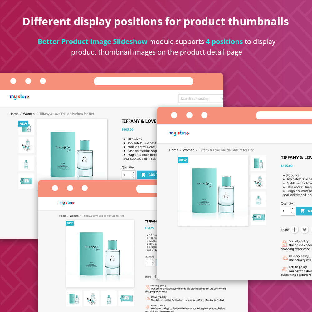 module - Sliders y Galerías de imágenes - Better Product Image Slideshow - 4