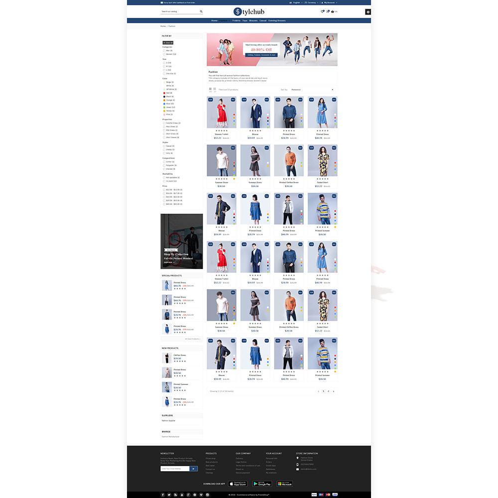 theme - Mode & Chaussures - StyleHub Fashion Mall - 3