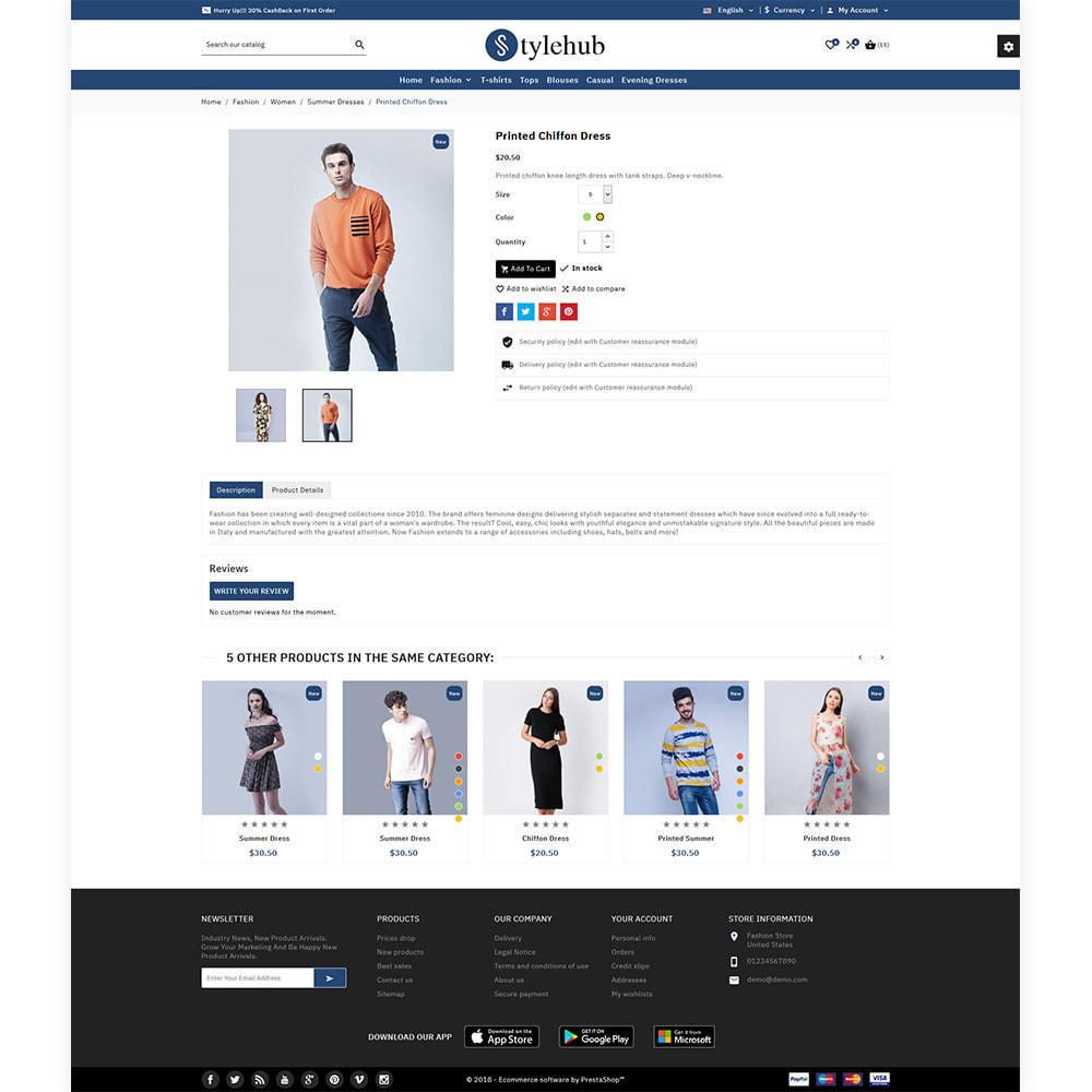 theme - Mode & Chaussures - StyleHub Fashion Mall - 5