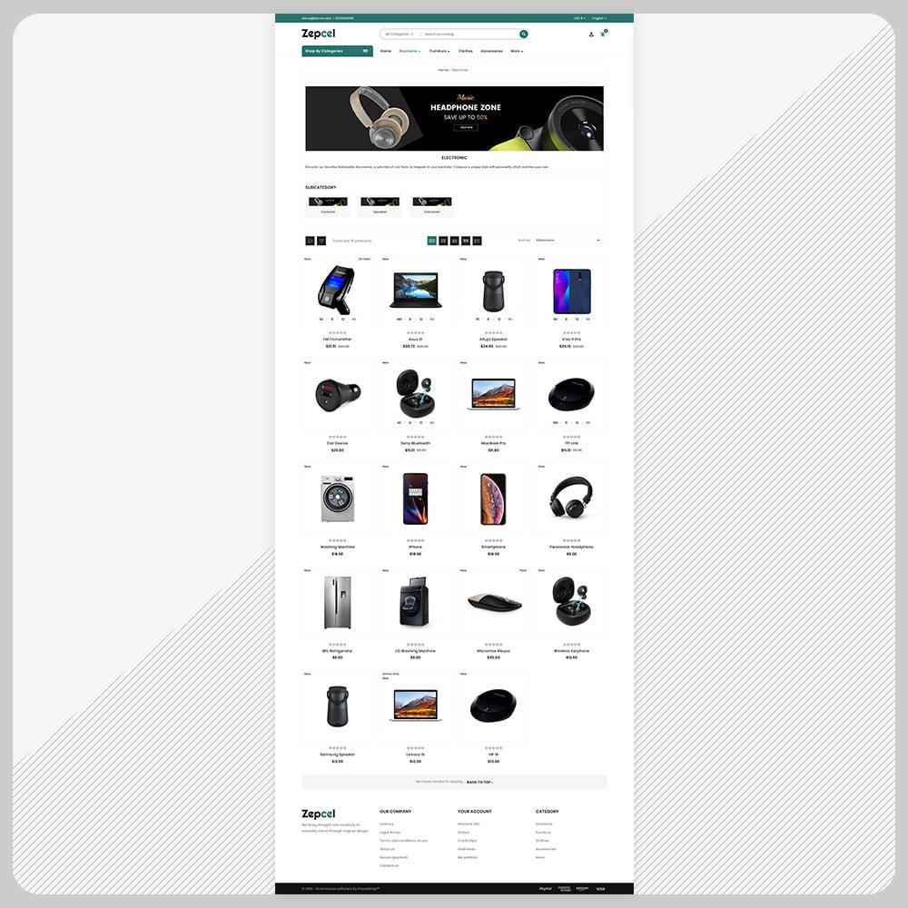 theme - Electronique & High Tech - Zepcel - Electronic Big Shop - 3