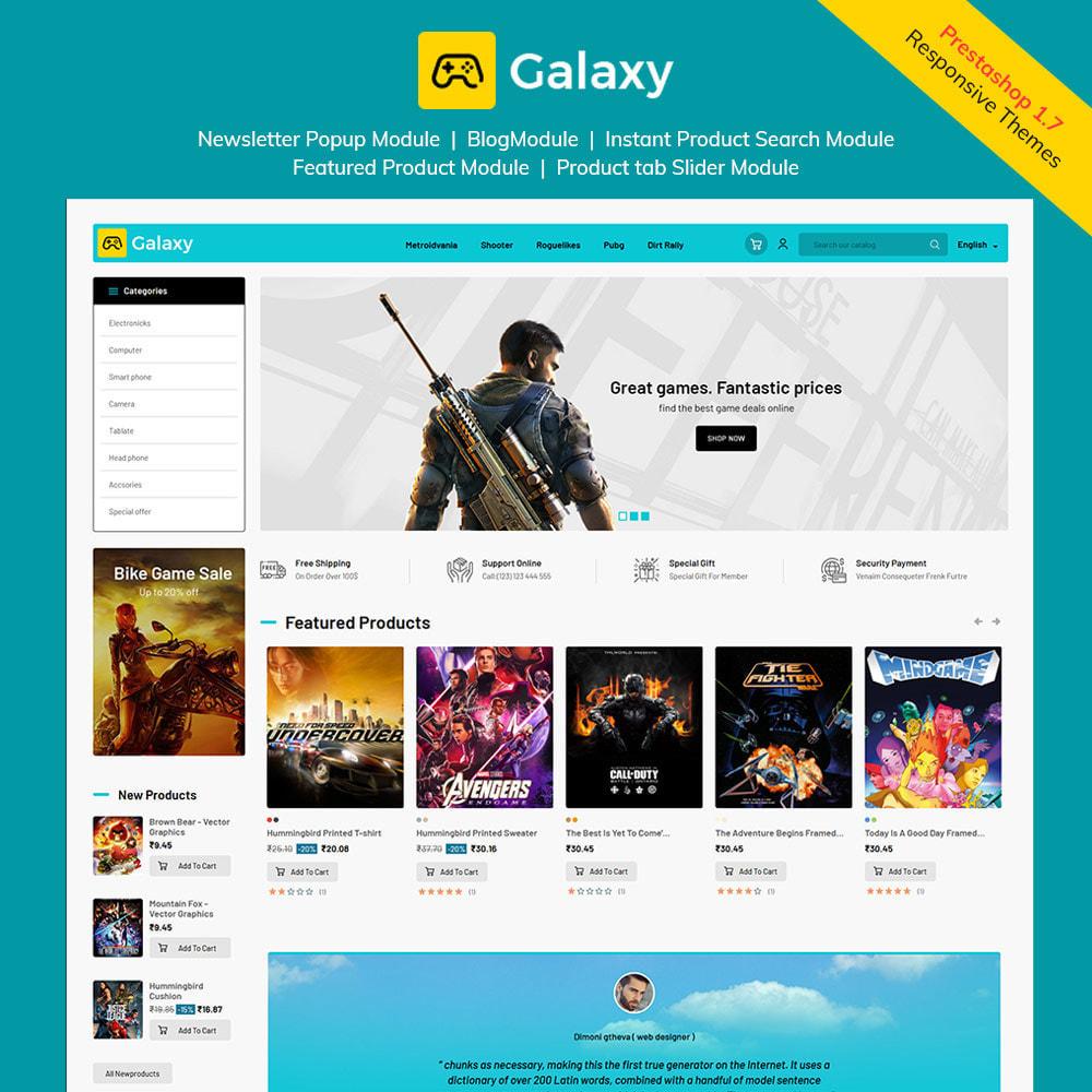 theme - Enfants & Jouets - Galaxy Game - Magasin de jouets pour jeux numériques - 2