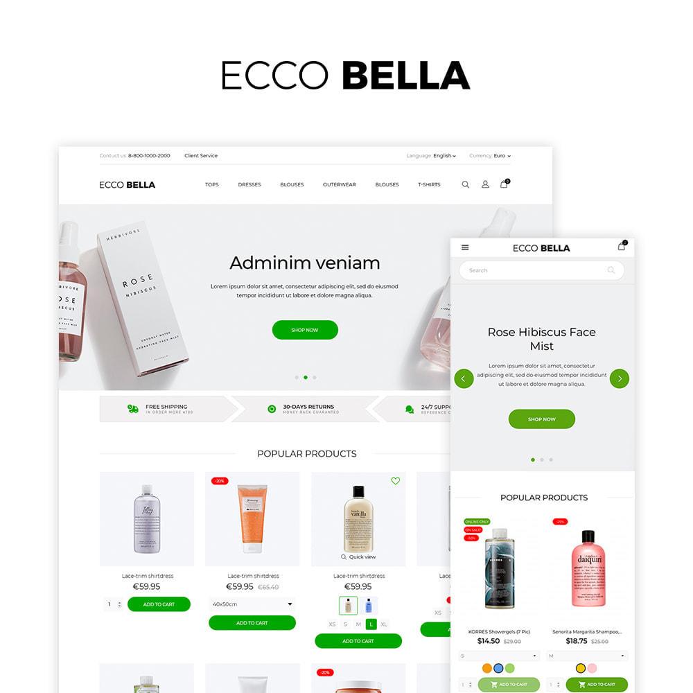 theme - Santé & Beauté - Ecco Bella Cosmetics - 1