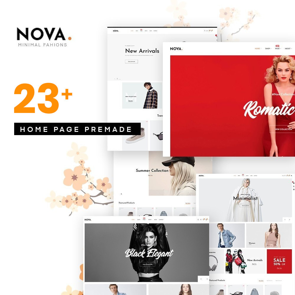 theme - Fashion & Shoes - Nova Fashion Store Hot Trending 2021 - 1