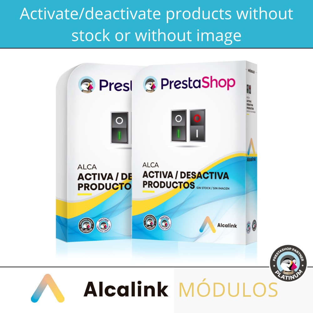 module - Stock & Supplier Management - Activate/deactivate products without stock or image - 1