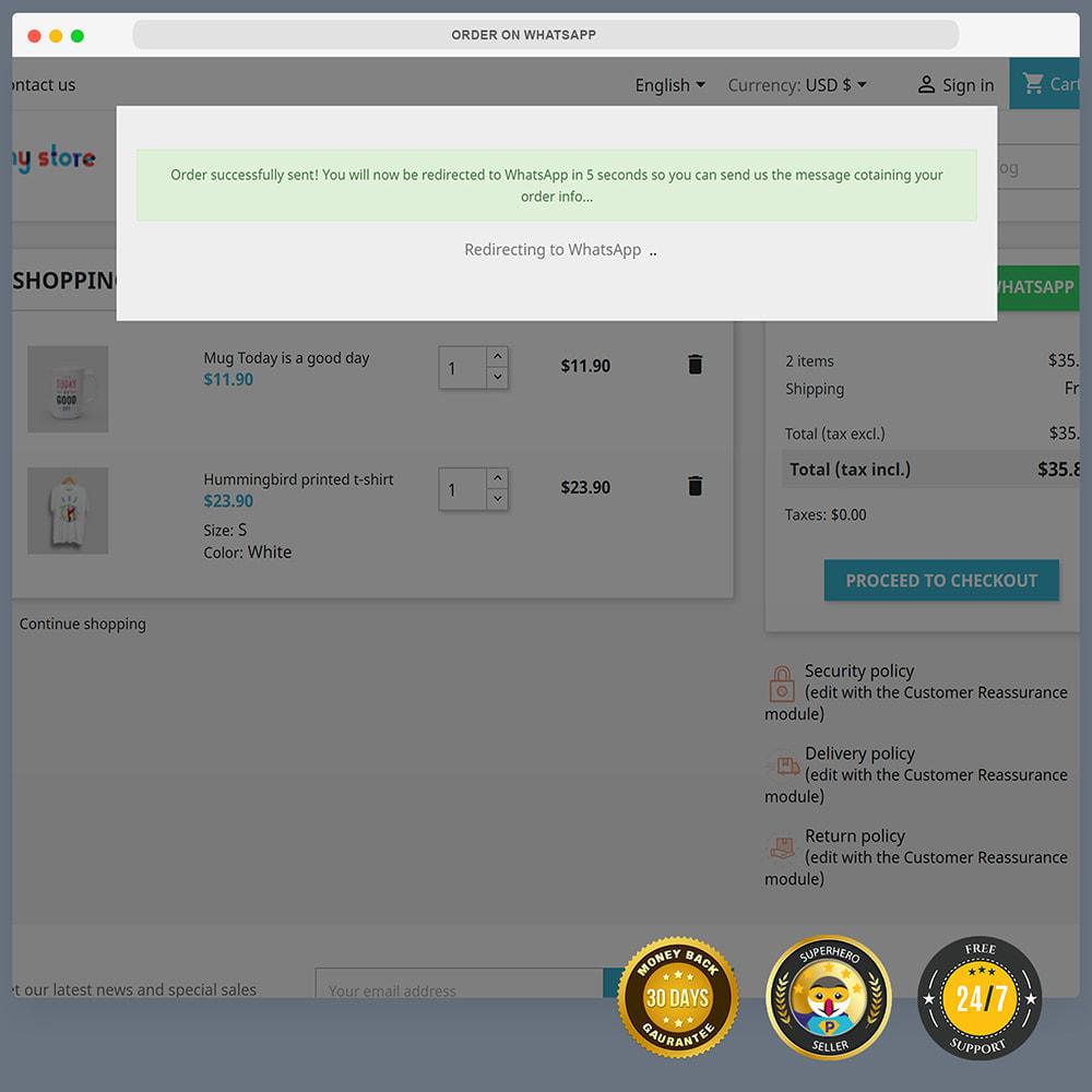 module - Supporto & Chat online - WhatsApp Integration PRO - Ordine, chat, agenti - 10