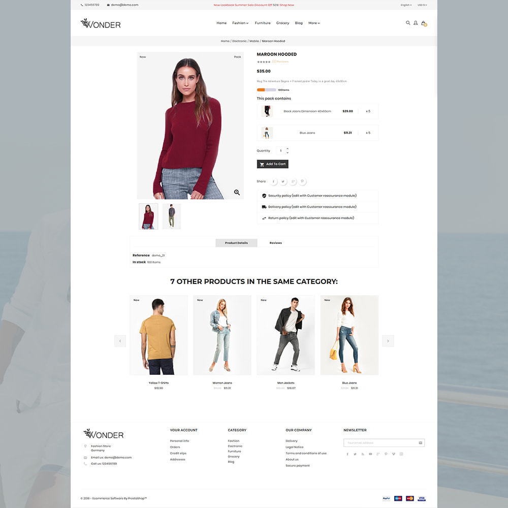 theme - Mode & Chaussures - Onder Stylish Fashion Store - 4