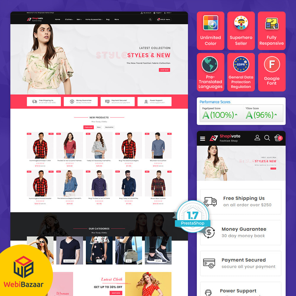 theme - Mode & Schoenen - Shopivate -  The Fashion Shop - 1