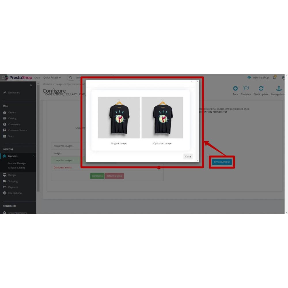 module - Visuels des produits - Image Compress with reSmush + CRON JOB - 6
