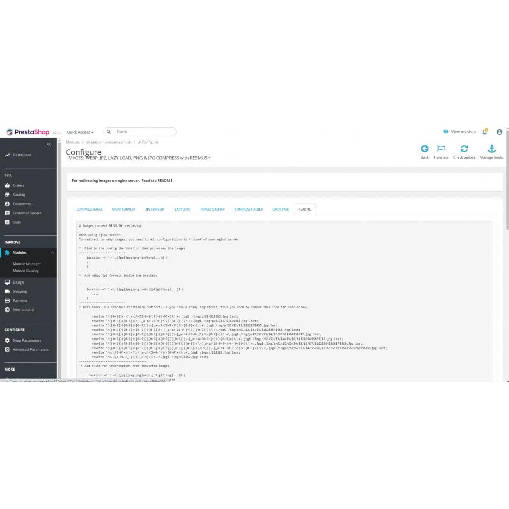 module - Visuels des produits - Image Compress with reSmush + CRON JOB - 15