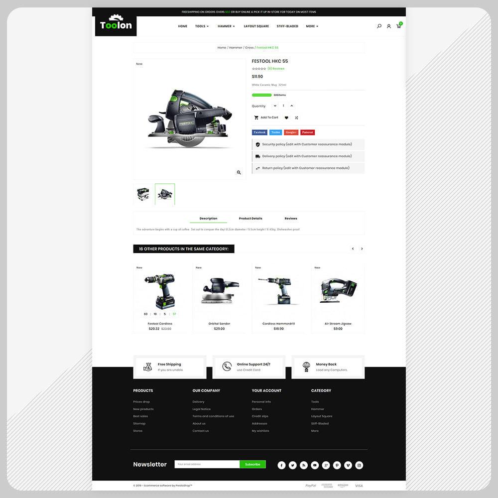 theme - Авто и Мото - Toolen Tools Mega Mall - 4