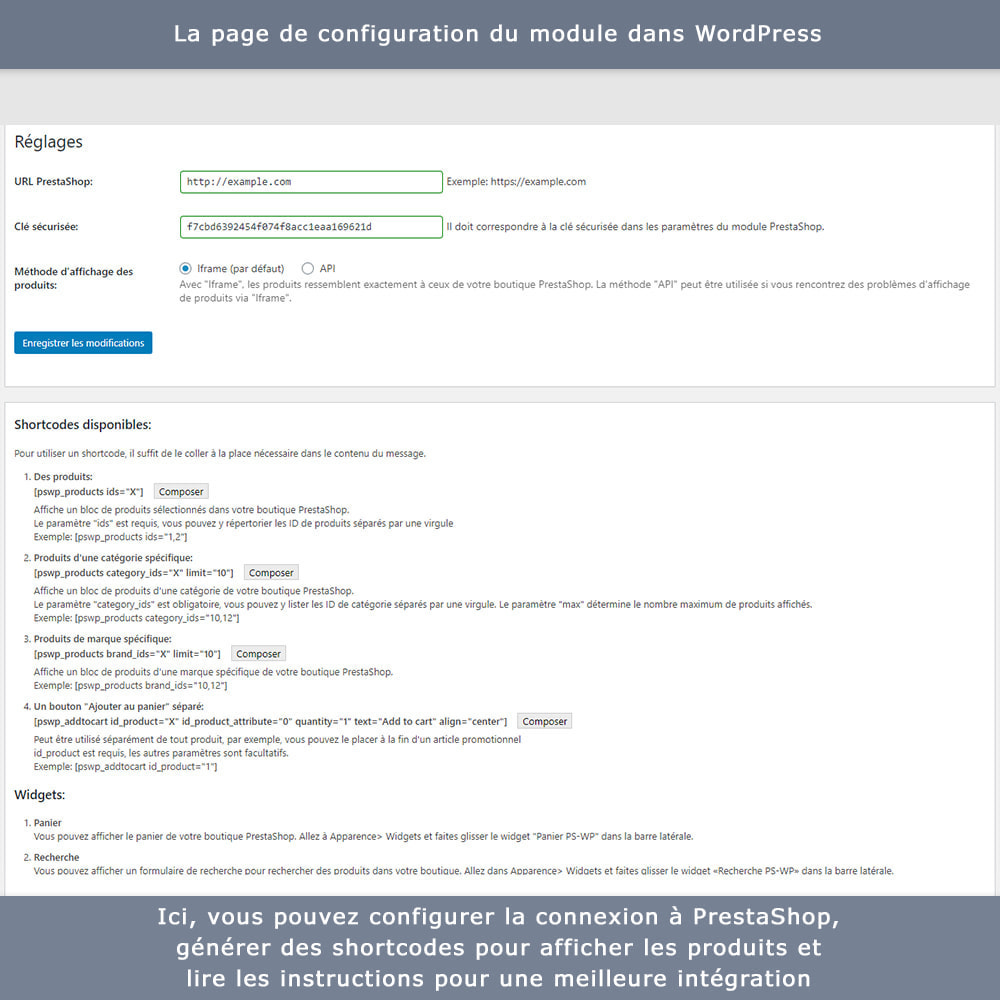 module - Blog, Forum & Actualités - Intégration bidirectionnelle PrestaShop-WordPress - 10