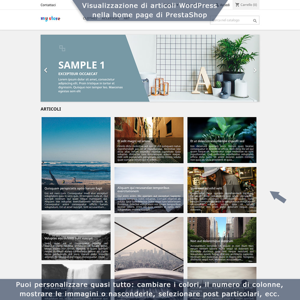 module - Blog, Forum & News - Integrazione bidirezionale PrestaShop e WordPress - 1